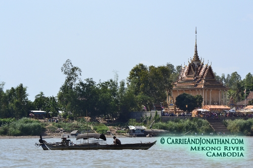 Cruising up the Mekong River from Vietnam to Cambodia