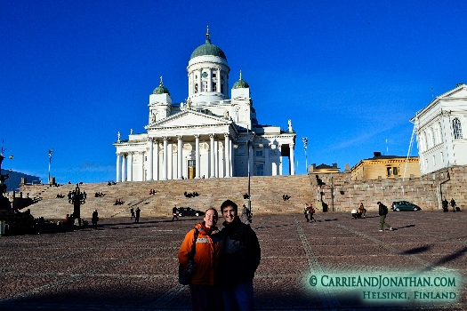 Helsinki Finland, the three famous churches