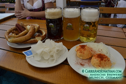 Andechs Brewery Munich Germany