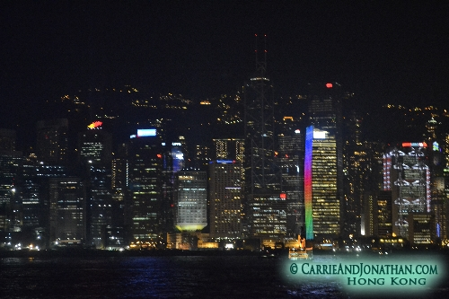 The Free Light and Sound show Hong Kong