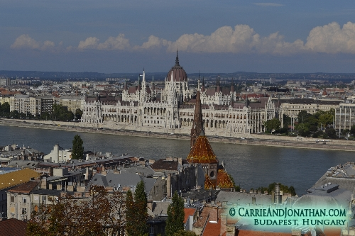 Walking tour of Budapest, Hungary