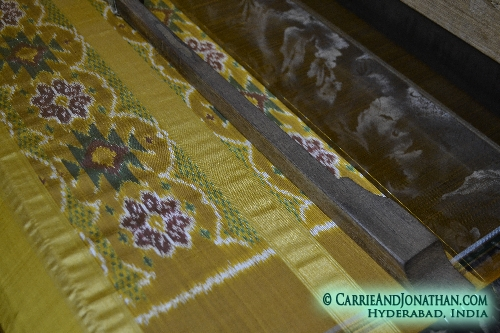 Silk Saris, Pottery, and fresh from the tree palmfruit, India