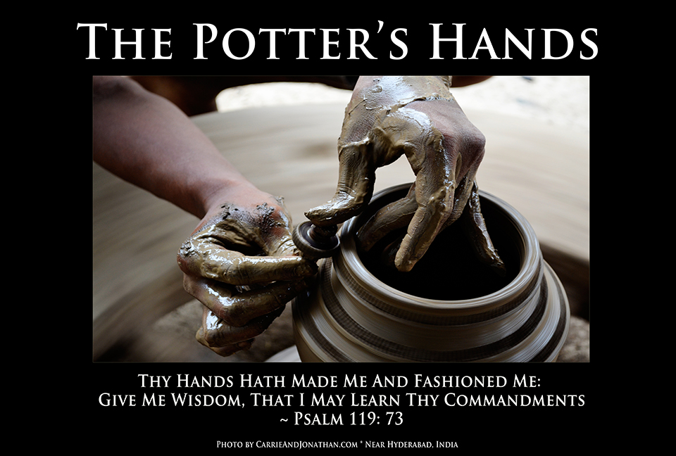 the potters hands poster