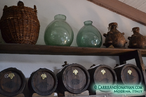 traditional balsamic vinegar production
