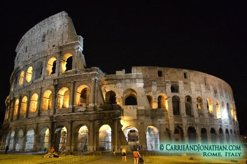 Rome, Visiting the Coliseum