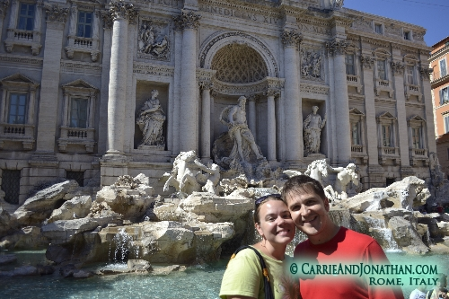 Rome, Italy the Trevi Fountain
