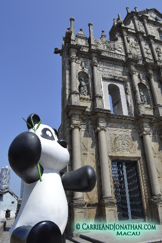 Macau casinos and shopping and history combine