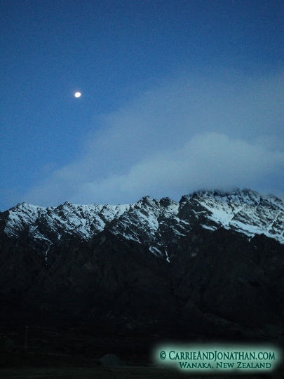 The Remarkables near Queenstown and Wanaka New Zealand