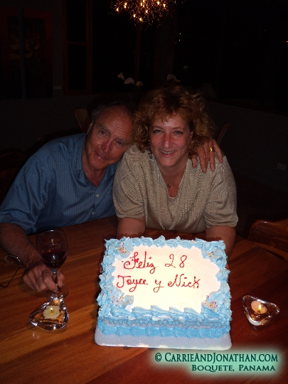 Nick and Joyce in Boquete, Panama