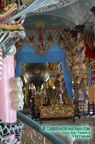Cao Dai Temple in Southern Vietnam