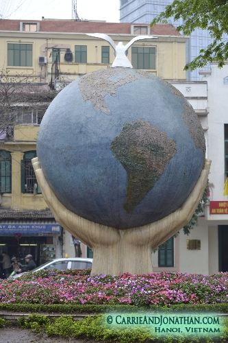 Sightseeing in Hanoi, Vietnam