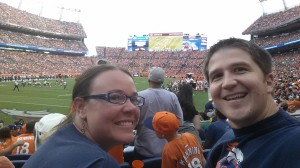 Carrie and Jonathan - Denver Broncos